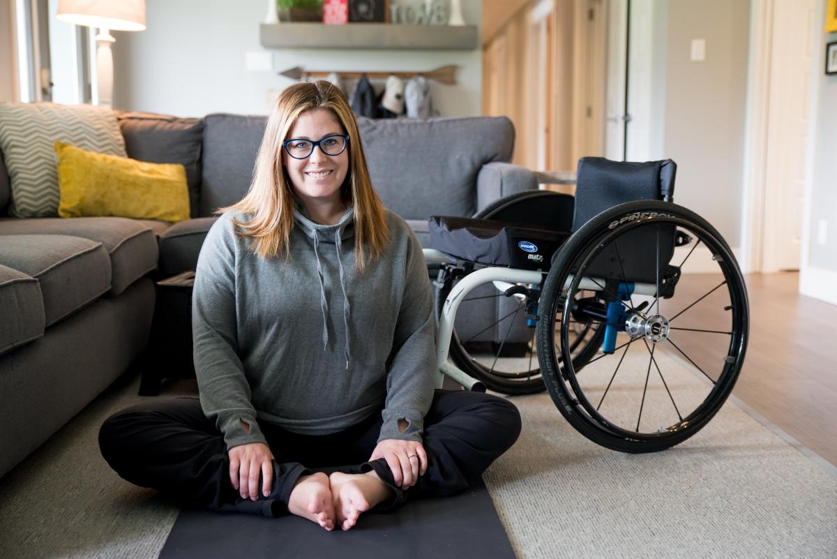 Are paraplegic women wheelchairs with